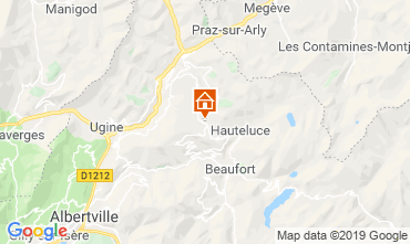 Karte Les Saisies Studio 2714
