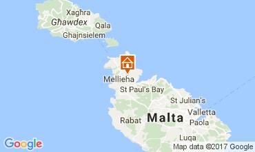 Karte Mellieha Villa 31305