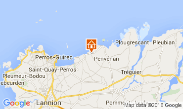 Karte Perros-Guirec Haus 97827