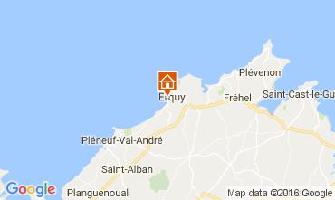 Karte Erquy Haus 107191