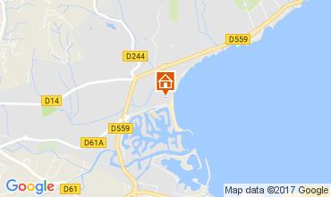 Karte Saint Tropez Mobil-Home 112047