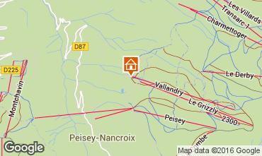 Karte Peisey-Vallandry Studio 4747