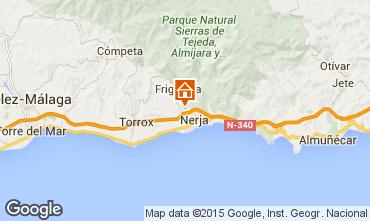 Karte Nerja Ferienunterkunft auf dem Land 92859