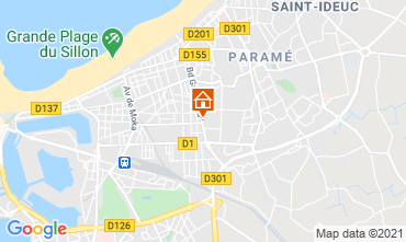 Karte Saint Malo Haus 89024
