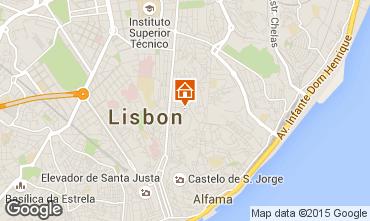 Karte Lissabon Appartement 55241