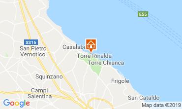 Karte Lecce Villa 114230