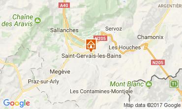 Karte Saint Gervais Mont-Blanc Appartement 111843