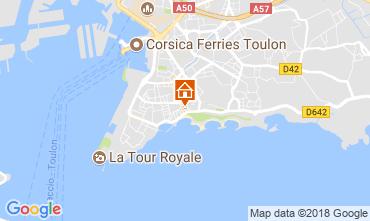 Karte Toulon Studio 98823