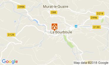 Karte La Bourboule Appartement 115202