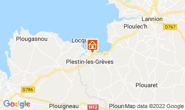 Karte Perros-Guirec Haus 14528