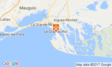 Karte Le Grau du Roi Appartement 108260