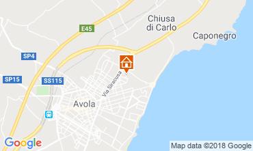 Karte Avola Villa 116015
