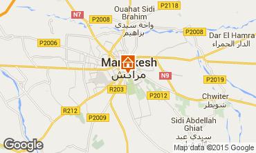 Karte Marrakesch Ferienunterkunft auf dem Land 57859