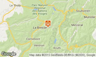 Karte La Bresse Hohneck Appartement 25854