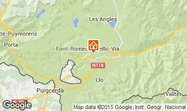 Karte Font Romeu Appartement 4157