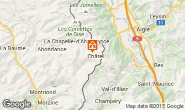 Karte Ch�tel Chalet 73656