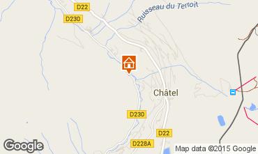 Karte Châtel Chalet 73656