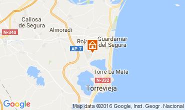 Karte Torrevieja Villa 107228