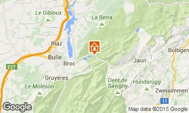 Karte Charmey Chalet 72762