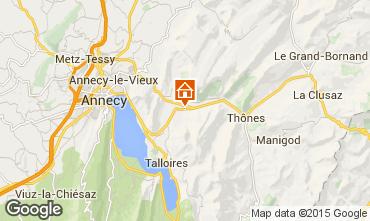 Karte Annecy Chalet 845