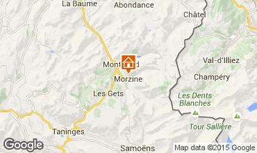 Karte Morzine Chalet 58010