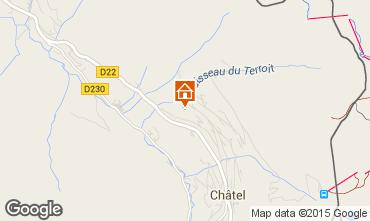 Karte Châtel Chalet 58875