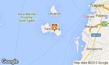 Karte Favignana Villa 93109