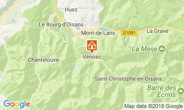 Karte Les 2 Alpes Appartement 59663