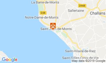 Karte Saint Jean de Monts Appartement 51553