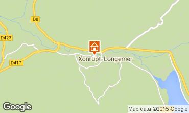Karte Xonrupt Longemer Ferienunterkunft auf dem Land 66611