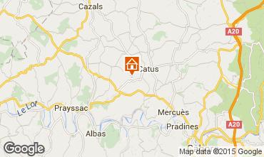 Karte Cahors Haus 92444