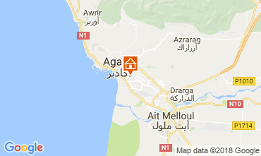 Karte Agadir Appartement 116010