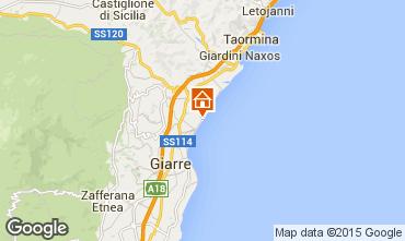 Karte Fiumefreddo di Sicilia Appartement 81186