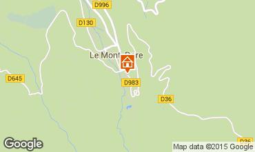 Karte Le Mont Dore Appartement 56666