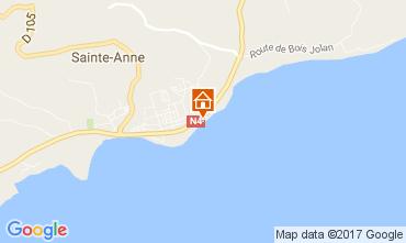 Karte Sainte Anne (Guadeloupe) Appartement 73124