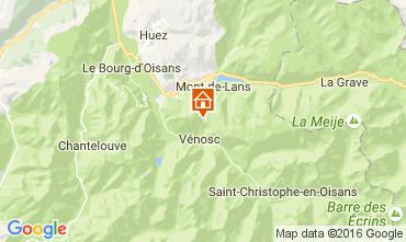 Karte Les 2 Alpes Appartement 28328