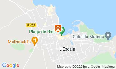 Karte L'Escala Appartement 79975