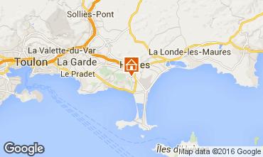 Karte Hyères Villa 102987