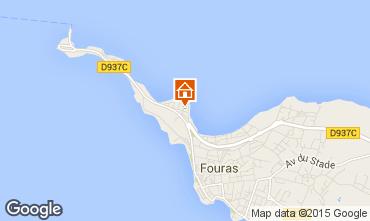 Karte Fouras Villa 11301