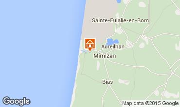 Karte Mimizan Villa 6532