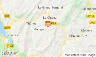 Karte Manigod-Croix Fry/L'étale-Merdassier Appartement 116760