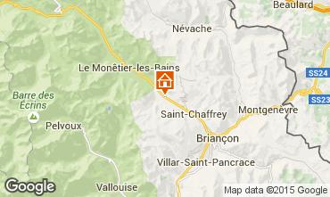 Karte Serre Chevalier Chalet 15369