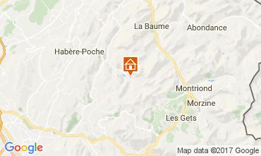 Karte Bellevaux Hirmentaz La Chèvrerie Appartement 102046