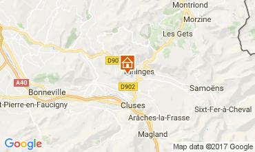 Karte Les Gets Chalet 66905
