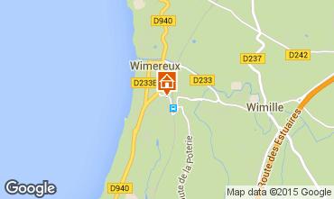 Karte Wimereux Appartement 80407