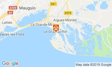 Karte Le Grau du Roi Appartement 82195