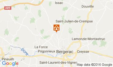 Karte Bergerac Ferienunterkunft auf dem Land 106775