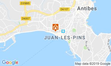 Karte Juan les Pins Studio 92523
