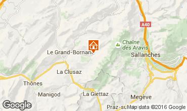 Karte Le Grand Bornand Chalet 66538