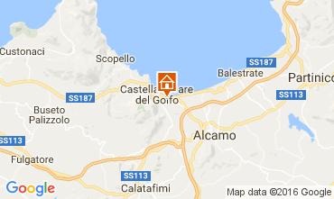 Karte Castellammare del Golfo Haus 67481